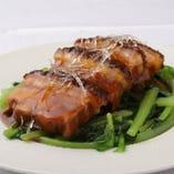 5】金凰特製フカヒレ入り豚肉の角煮