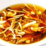 黒酢サンラータン(スープ)