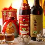 中国酒も各種ご用意!!雰囲気を盛り立てます♪