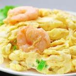 海老と卵の炒め