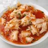 イカのチリソース煮