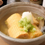 日本料理の経験豊富な料理長が腕を揮う自慢の「割烹おでん」