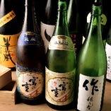 宮の雪や半蔵など三重のお酒が勢揃い!利き酒師が選ぶ自慢の一献