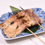 エノキの肉巻き串(2串)