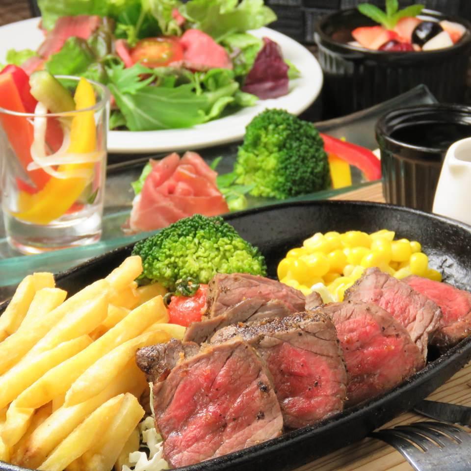 高級ロースステーキ・バーニャカウダを堪能★2H飲放 4000円⇒3500円