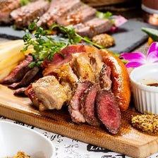 厳選肉の希少部位のお肉が楽しめる♪