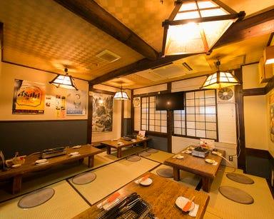 旨い地酒と宴会 居酒屋 てんきゅう 石橋 店内の画像