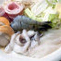 ミックス鉄板焼(野菜付)