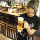 キンキンの生ビールで乾杯