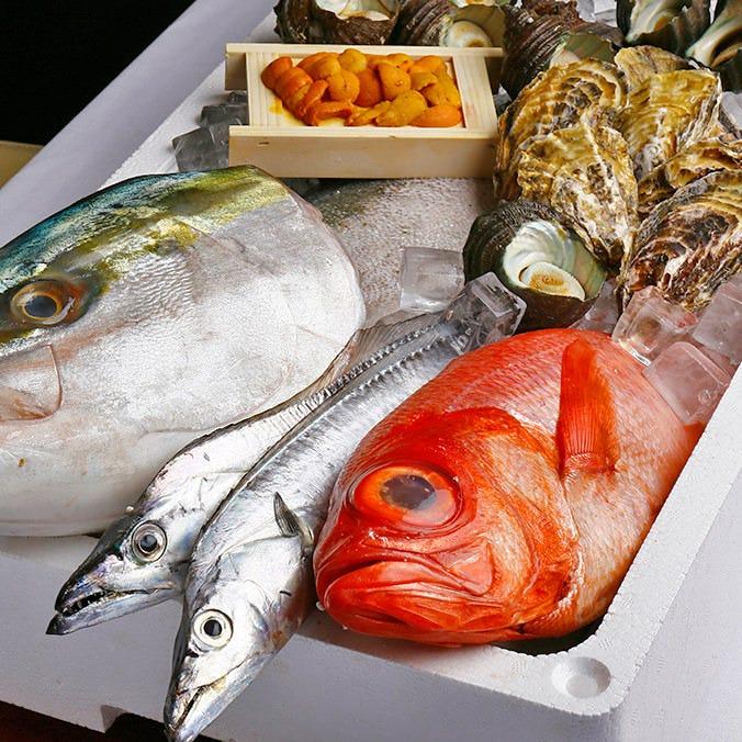 淡路島の漁師さんが直接届けてくださる鮮魚を使って