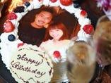 想い出の写真をプリントケーキに!お祝いにオススメです♪