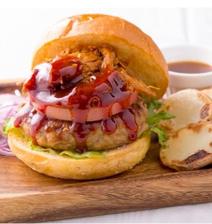 BBQバーガー(BBQ Hamburger & Potato)