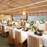 結婚披露宴、会議や展示会などに適した洋室の会場もございます。