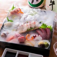 築地直送!新鮮鮮魚盛り合せ