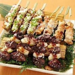 牛ハラミの串焼き(2本)