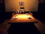 雰囲気のある本館 自慢のボックス席