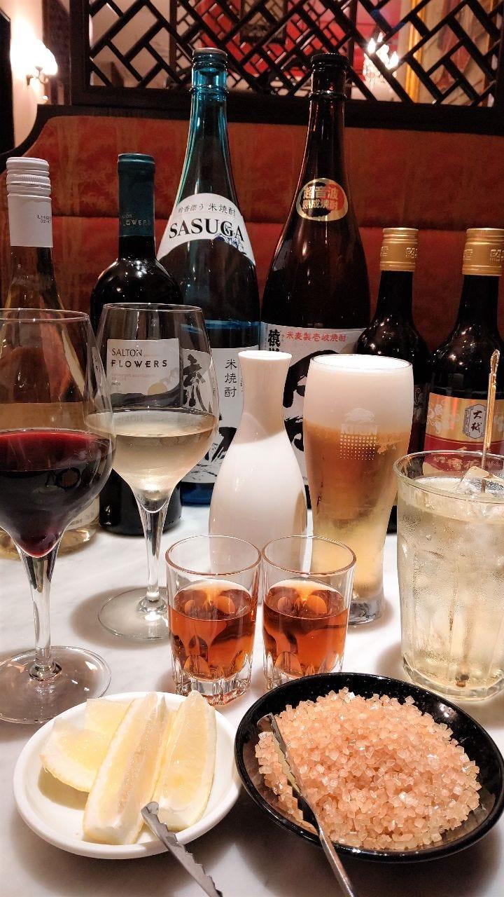 サルトンワインが付いた飲み放題おすすめです