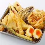天ぷら3種盛り合わせ