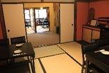 2階の個室は、各種宴会はもちろん、女子会などにもおすすめ。