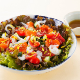 海鮮ちらしサラダ