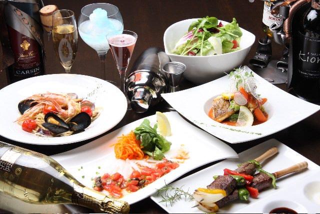 大切な記念日に厳選食材で最高のおもてなしを♪アニバーサリーコース【6品 5,000円】