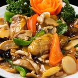 【牡蠣のオイスターソース】 広島産牡蠣を中華風に仕上げました
