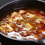 土鍋de麻婆豆腐は大人気!