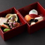 見た目でも楽しめる旬の和食料理をご堪能ください。