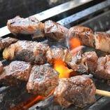 猪肉の串焼き