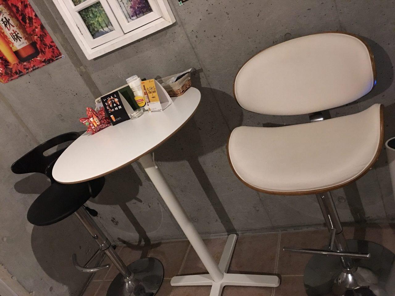 テーブル席・2名様