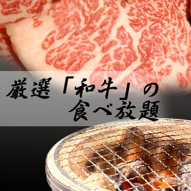 焼肉好きの方にぜひ食べていただきたい和牛を堪能できるコース