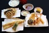 選りすぐりの素材を活かした天ぷらをご堪能ください