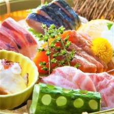 北海道厚岸産の新鮮な海鮮料理