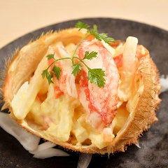 三ぶん名物 毛蟹サラダ