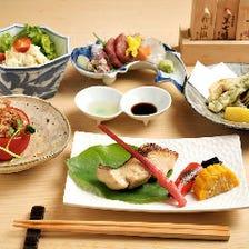 【お1人様にもおすすめ】その日おすすめのお料理をご用意する『楓コース』全5品|宴会
