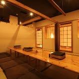 【20名様迄】料理旅館風の雰囲気ある個室を貸切利用♪