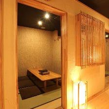 料理旅館風、なにわの小粋な宴会個室
