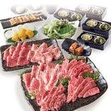【和-yawaragi-コース】産直自社ブランド牛を堪能できる人気No1コース! +1,500円で飲み放題