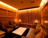 【VIPルーム】個室のソファー席は 2名~10名様でご利用可