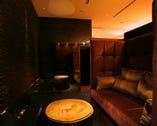 【カップルシート】大きなソファーに お二人だけのお席をご用意