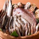 旬の江戸前の魚