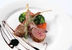 子羊肉のロースト プロヴァンサルソース