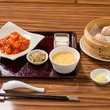 Cセット:海老の唐辛子ソース煮(エビチリ)
