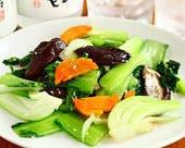 青菜オイスターソース炒め