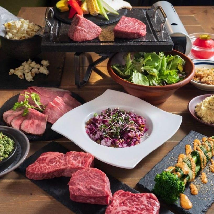 熟成肉を堪能できるお得なコース