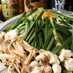 横丁の特製もつ鍋【白味/醤油】