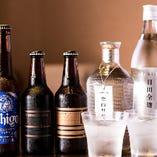 【豊富なドリンク】 新潟地酒を筆頭に各種ドリンクをお楽しみ下さい