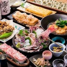 自慢の料理が楽しめるコース3,000円~