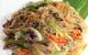 チャプチェ、牛肉と野菜がバランスよく取れた麺料理