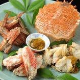 【夏のおすすめ・毛ガニ】 毛ガニや明石の鯛など、旬の味覚を